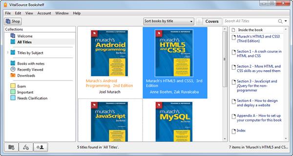 Offline Bookshelf computer