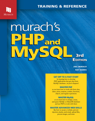 PHP Programming Book - MySQL Programming Book - Murach