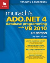 visual basic programming books - Murach's ADO.net 4 Database Programming